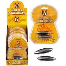 Rattle Magnets 2st. 6x2cm  12st.
