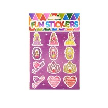 Stickers Prinses 120st.