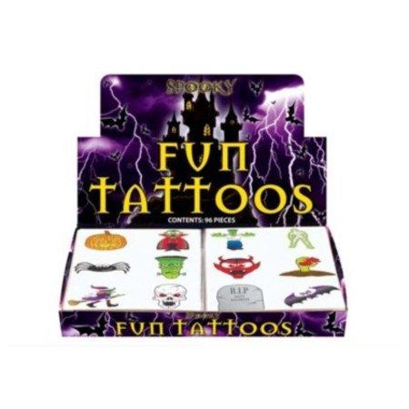 Tattoos Halloween 2ass. 96 st.