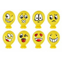 Ballon knutselset Smiley 240st.