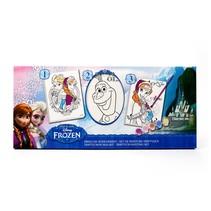 Frozen drieluik schilderset 12st.