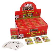 Mini kaartspel boerderij 24st.