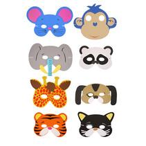 Masker Jungledieren 24st.