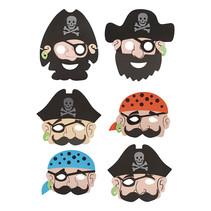 Masker piraat 24st.