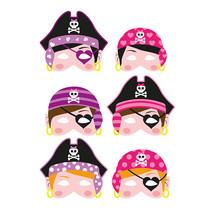 Masker piraat girls 24st.