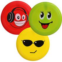 Frisbee Smiley 21cm 24st.