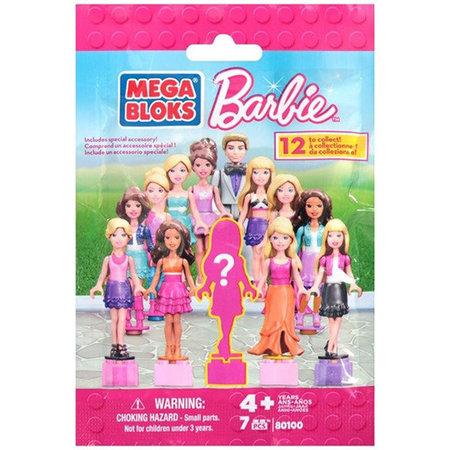 Barbie mega bloks verrassingszakje 25st.