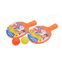 Plastic ping pong set met bal 24st.