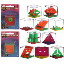 Geduldspel kubus op kaart 48st.