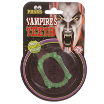 Glow in the dark vampier gebit 48st.