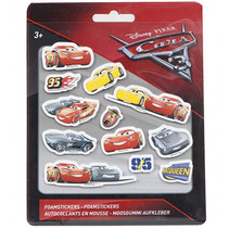 Cars 3 foamstickers 24st.