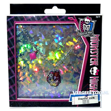 Mattel Mattel Monster High armband met bedels 24st.