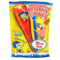 Spongebob 70cm opblaasbare honkbal knuppel 12st.