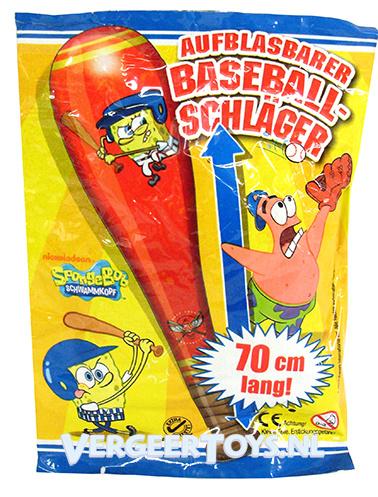 Nickelodeon Spongebob 70cm opblaasbare honkbal knuppel 12st.