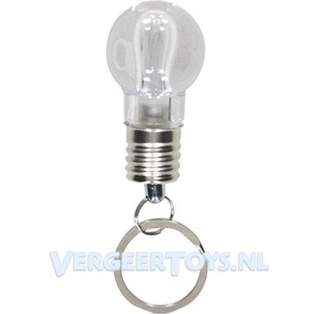 Sleutelhanger lampje met licht 50st.
