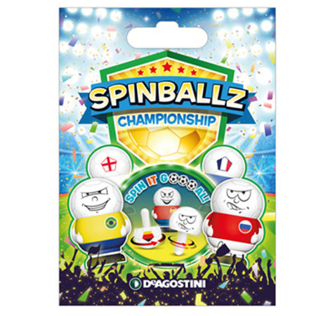 Spinballz voetbal tol verrassingszakje 16st.