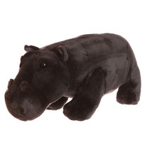 Grote pluche Nijlpaard 40cm 1st.