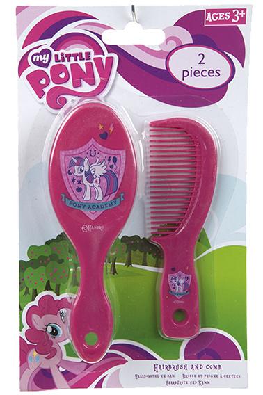Hasbro My Little Pony kam & borstel set 24st.