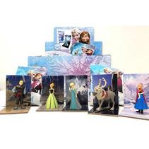 Frozen 3D poppetje met standaard 25st.