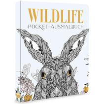 Wildlife Ausmalbuch (50 Seiten) 10Stk.