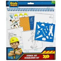 Bob der Baumeister Farb- und Schablonenset 32-teilig 6Stk.