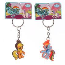 Regenboog pony sleutelhanger 72st.