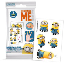Minions Tattoo stickers 24st.