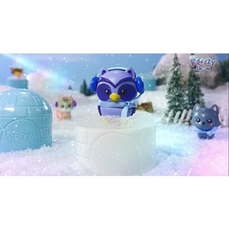 Sbabam Freezy Magic Snow beestje met iglo capsule 12st.
