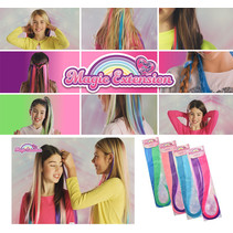 Pretty Girl Magic Haar-strähnen Set 50cm 16Stk.