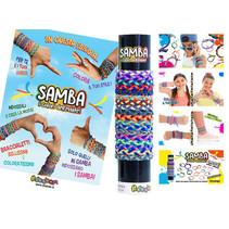 Samba elastisches Armband 36Stk.
