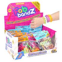 Fab Bandz (6) met glitters 36st.