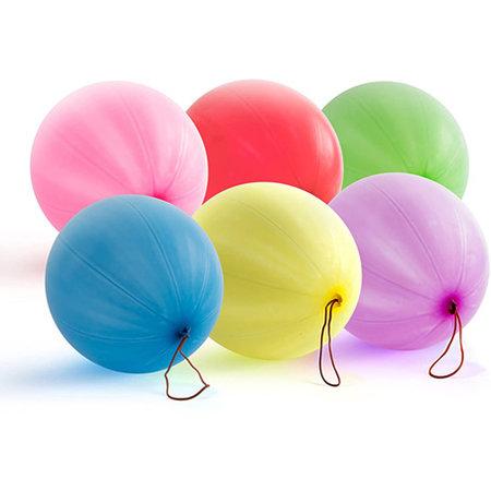 Punch ballon 6ass. Ø35cm 60st.
