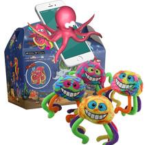 Box Oceaan &  Pluche monster spin 48st.