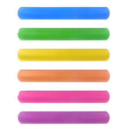 Snap-on armband  Neon 120st.