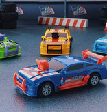 Menubox Verstappen met Maxi Fast Crash stuntauto 12cm 50st.