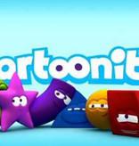 Menubox Emoji met Cartoonito pluche cartoon figuren 100st.