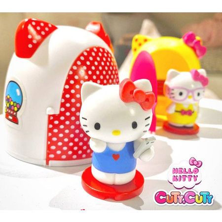 Sbabam Hello Kitty Cuty Cuty  met huisje 12st.