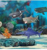 Sbabam Roofdieren van de zee squeezy 12st.