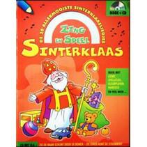 Sinterklaas zing- en speel boek  A4 met cd 24st.