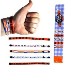 Holland fan armband 5ass.160st.