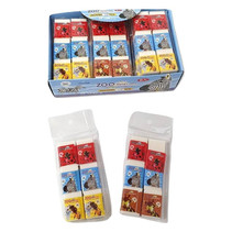 Radiergummi 6er-Pack Zoo 18Stk.
