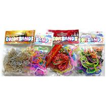Color Bands (20) met glitter 50st.