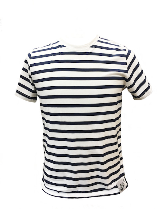 T-shirt Striped Cotton Tee