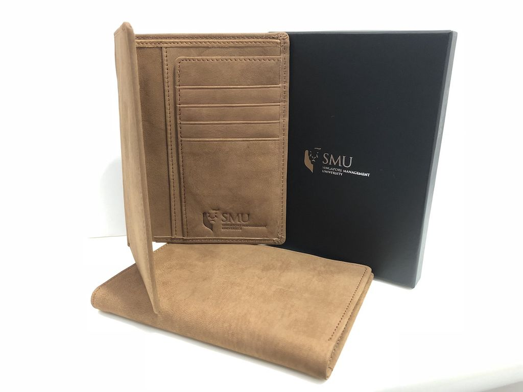 Passport Holder Suede Passport Holder