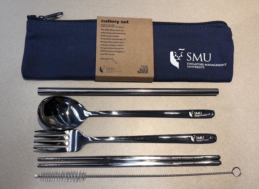 Cutlery 5-in-1 Cutlery Set with Pouch