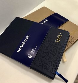 Notebook PU Notebook with Pen Slot, Navy