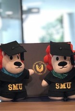 "Graduation Bear Smoo Smoo Graduation Plush 8"""