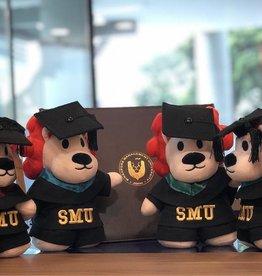 "Graduation Bear Smoo Smoo Graduation Plush 8"", Gold"