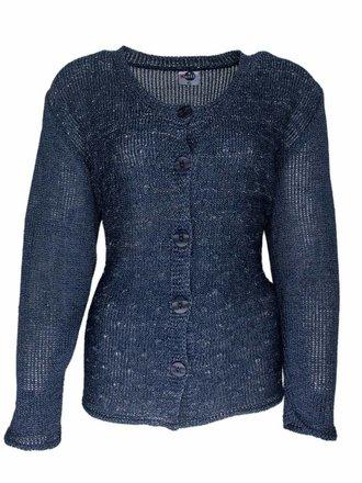 trui voor een oudere dame Blauw mode