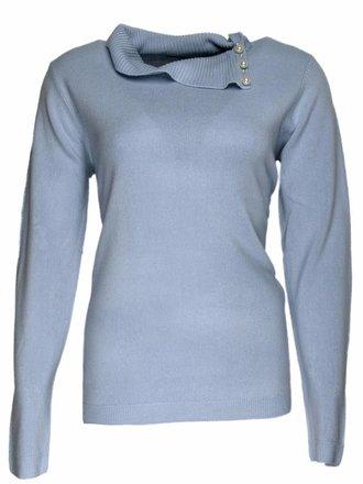 79fbf18759ae3f Gabriella K. Pullover cashmere- feeling blue